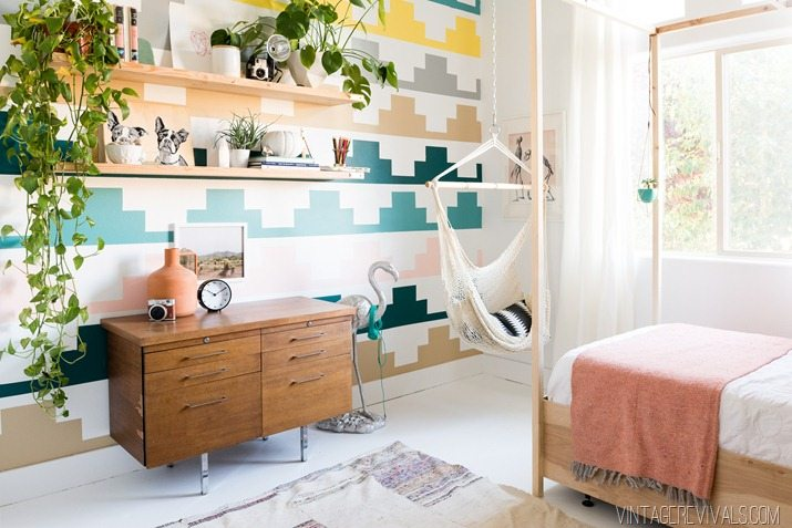 Vintage Revivals Girls Bedroom Makeover-18
