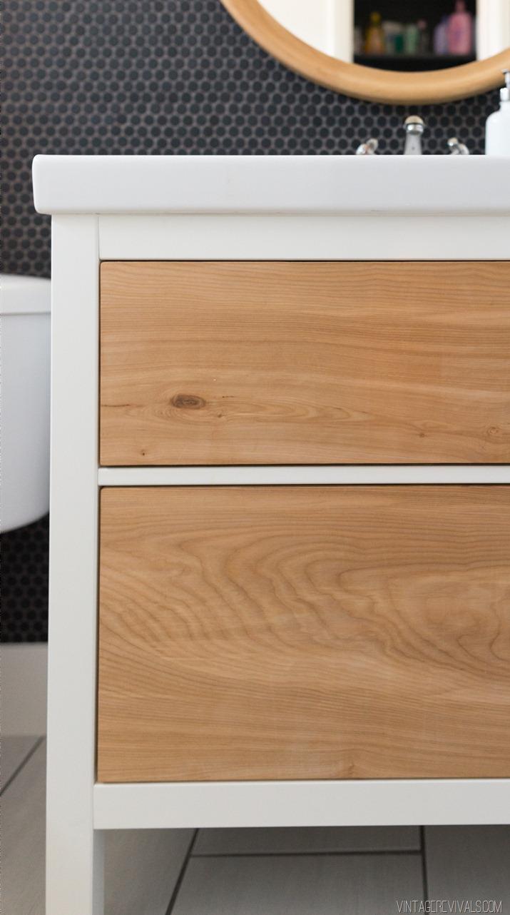 Budget Bathroom Makeover Cabinet 8