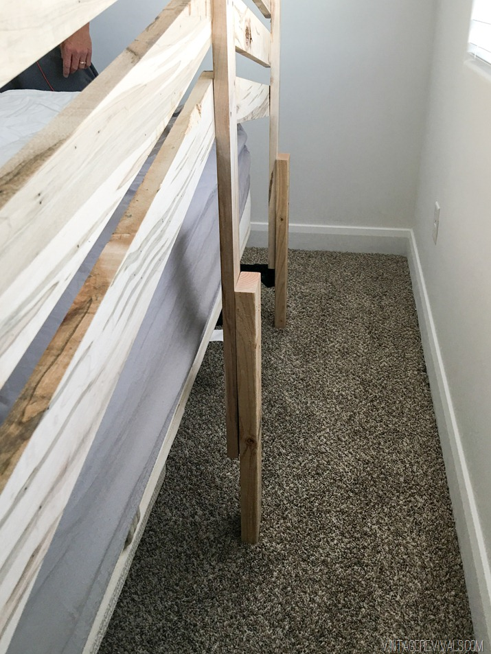 DIY Slatted Headboard-20