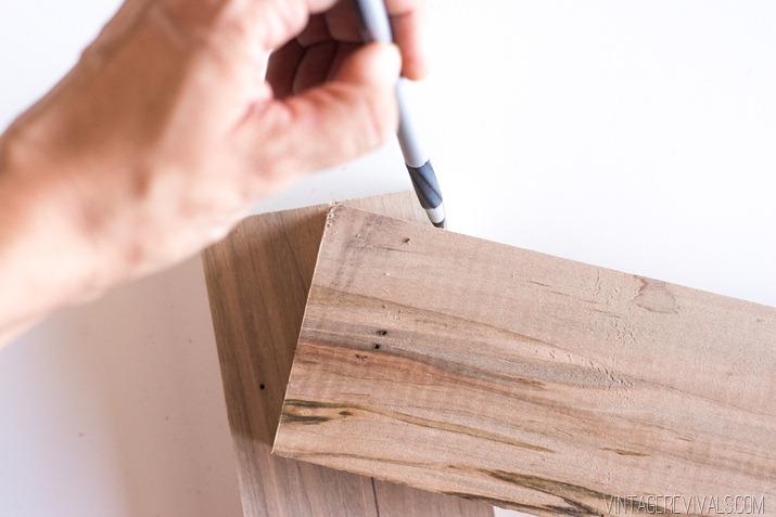 DIY Slatted Headboard-7