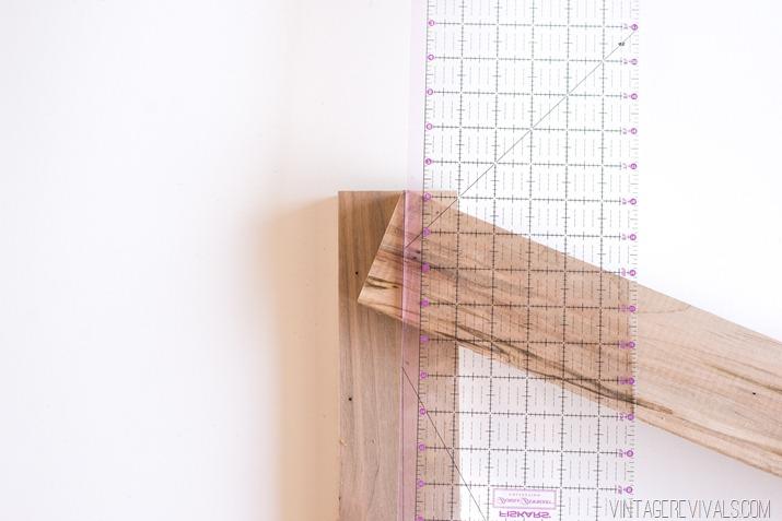 DIY Slatted Headboard-9
