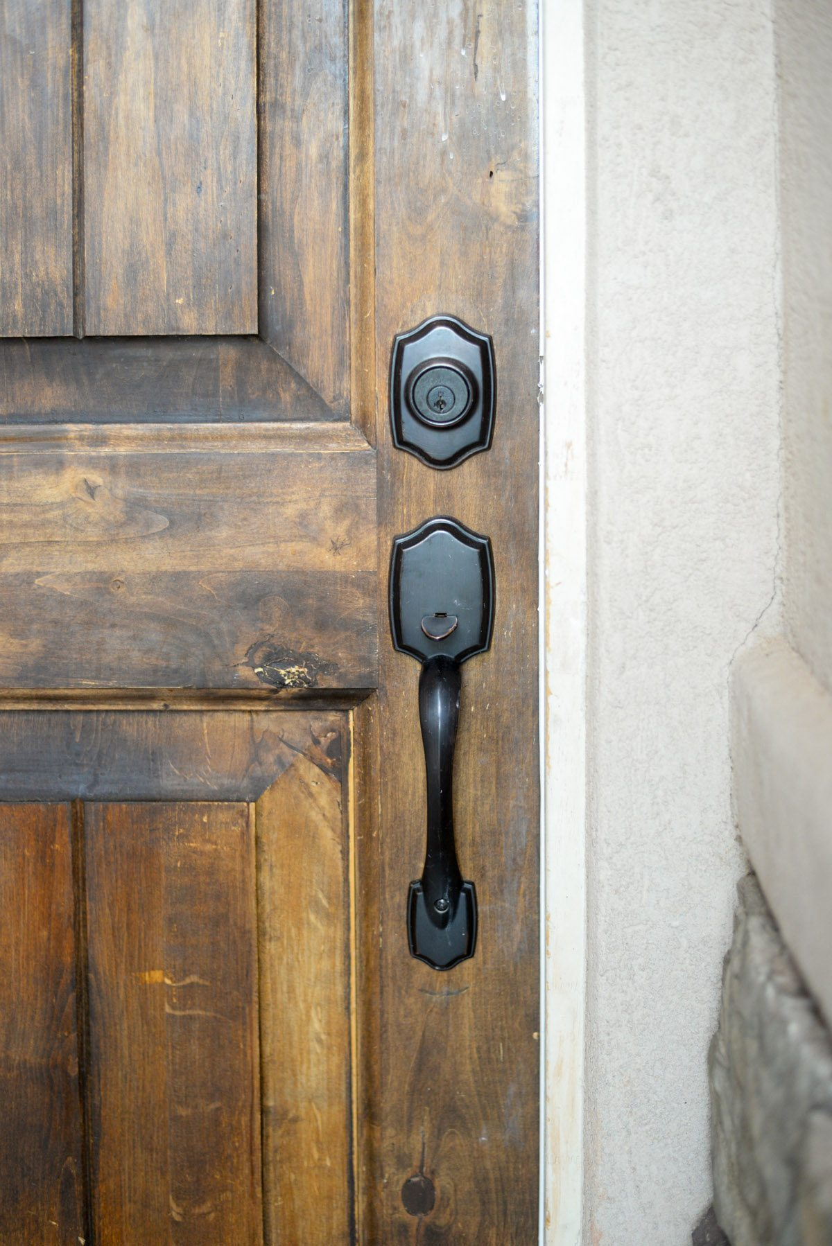 Entryway Update with Kwikset Downtown Locks-10