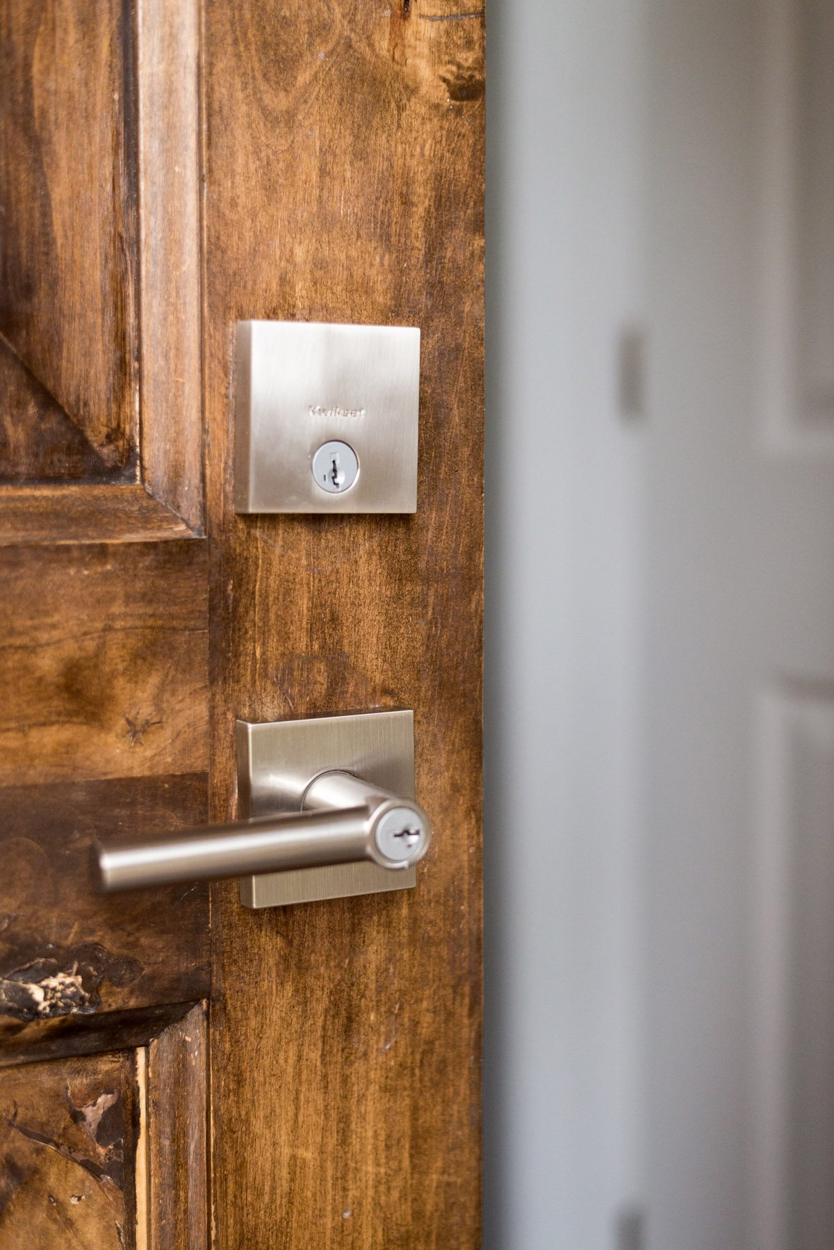 Entryway Update with Kwikset Downtown Locks-8