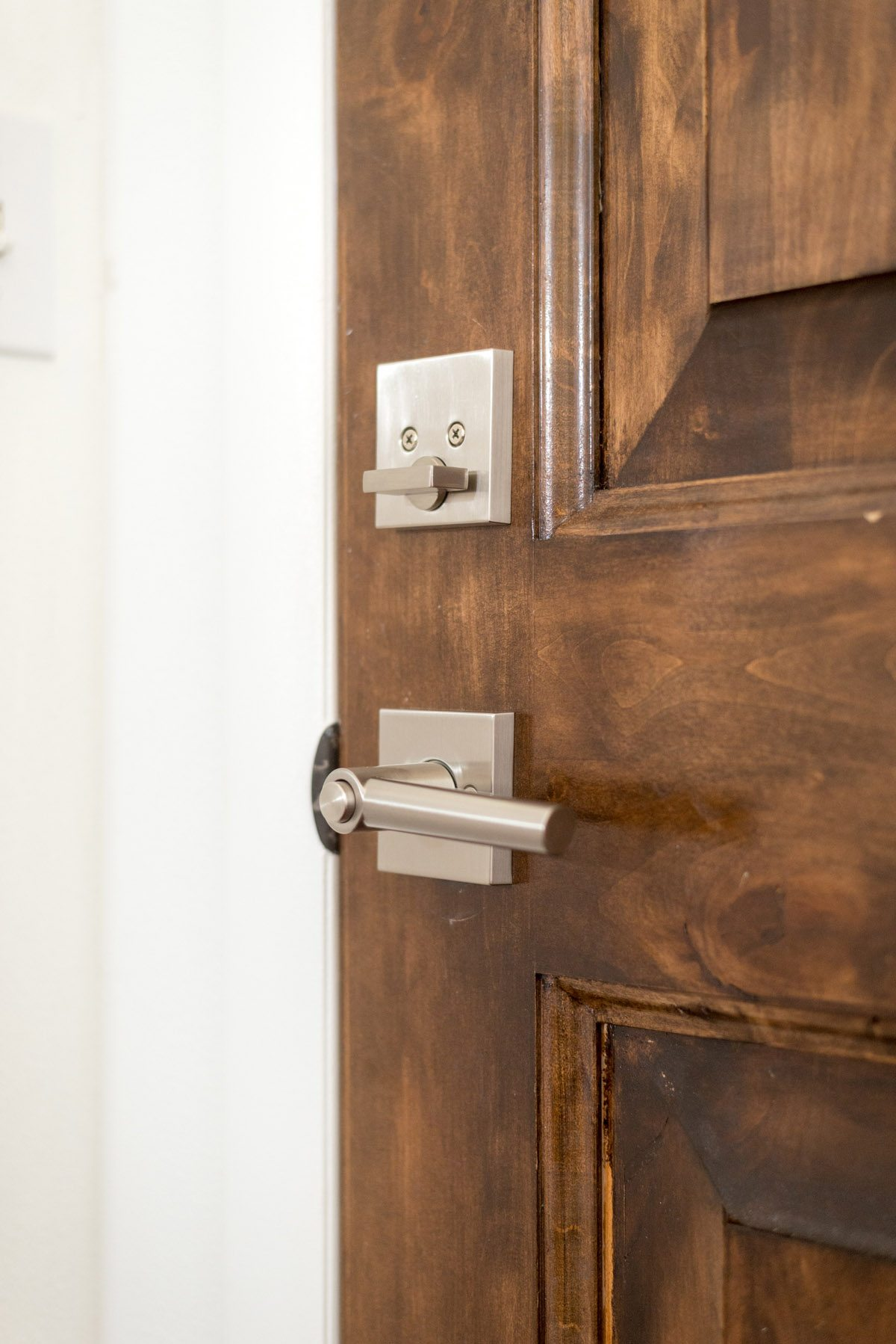Entryway Update with Kwikset Downtown Locks-9
