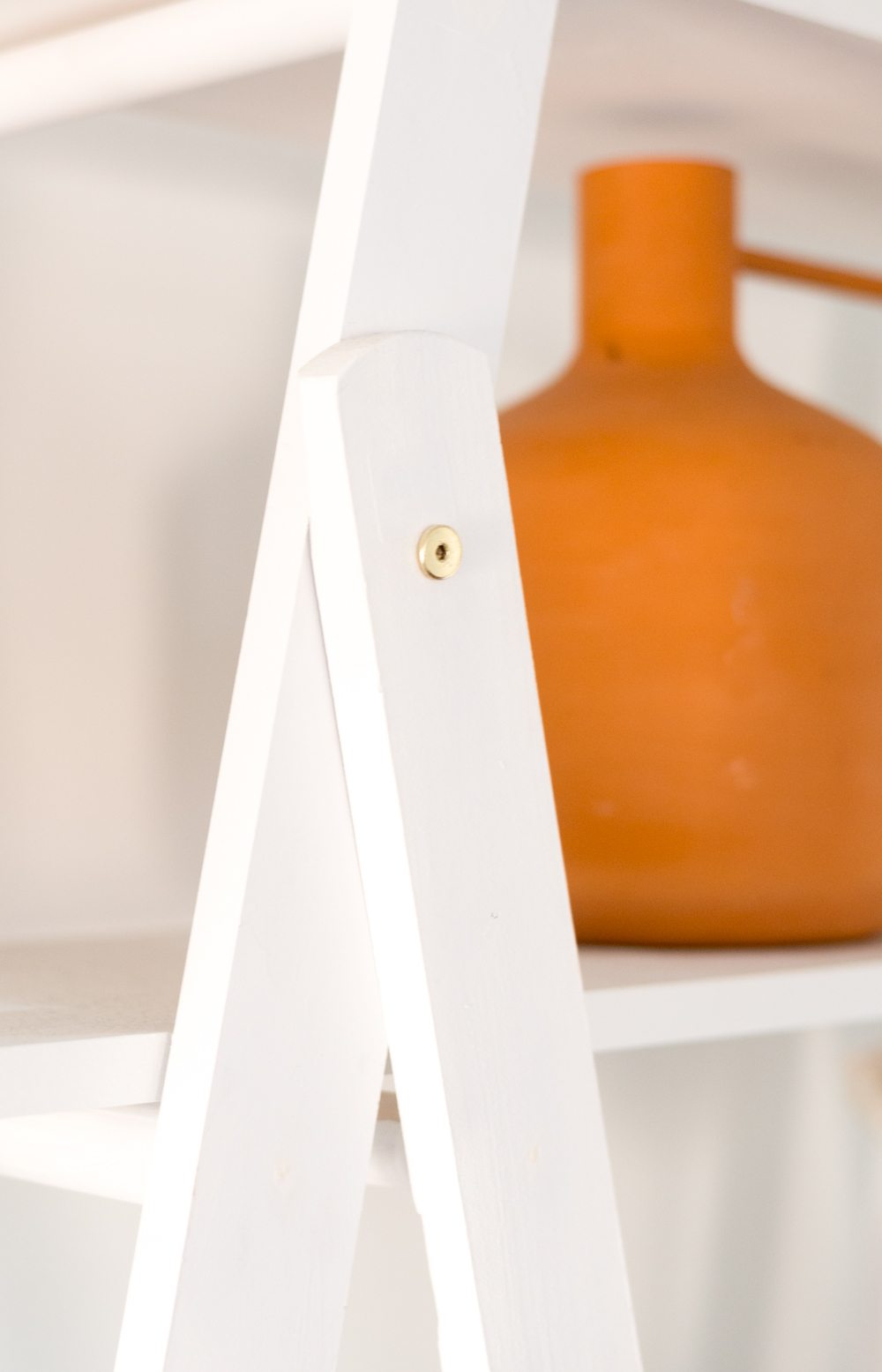 DIY A Frame Ladder Shelves-4