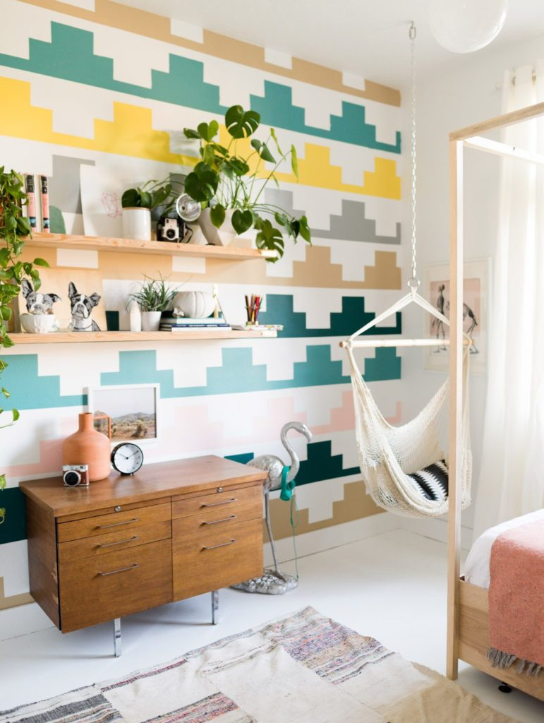 Vintage Revivals Girls Bedroom Makeover-1