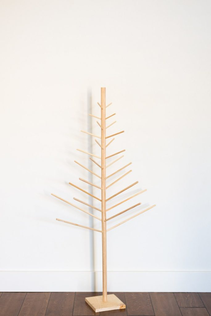 DIY Wooden Dowel Christmas Tree • Vintage Revivals