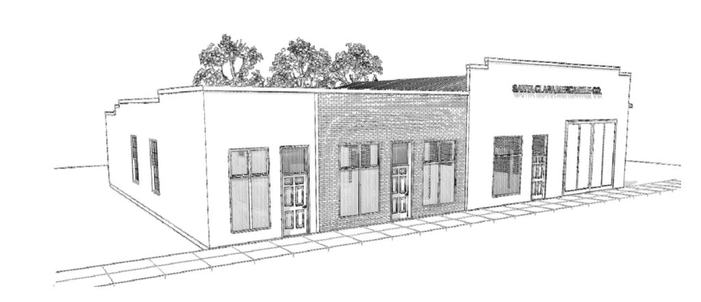 Front Elevation Antique : Exterior elevation plans for the merc vintage revivals