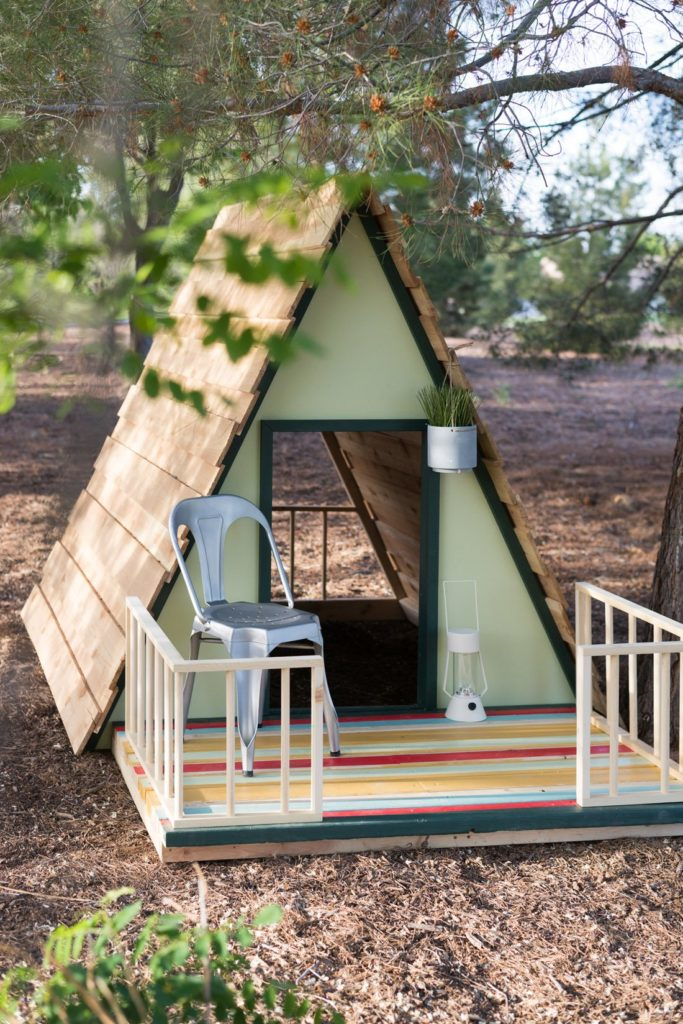 Foster Family Playhouses Revealed!