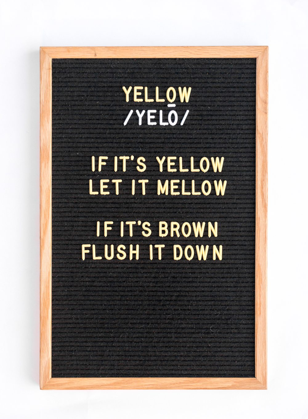 YELLOW Letter Board Letters!!!