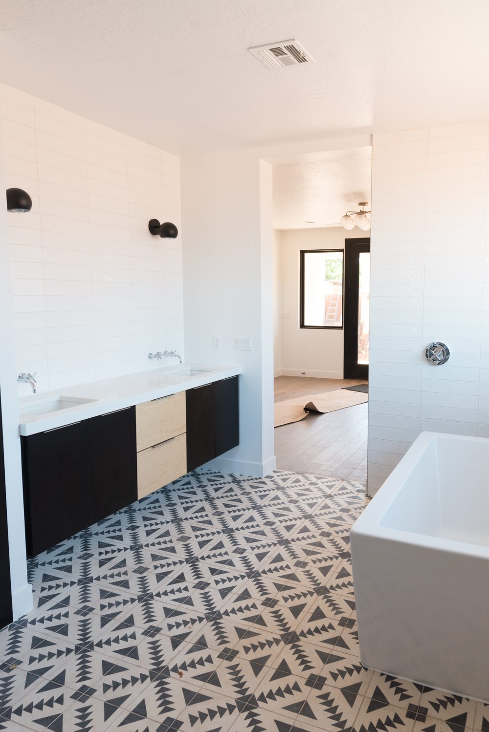 Where To Get Encaustic Cement Tile At The Price SERIOUSLY - Faux encaustic tile