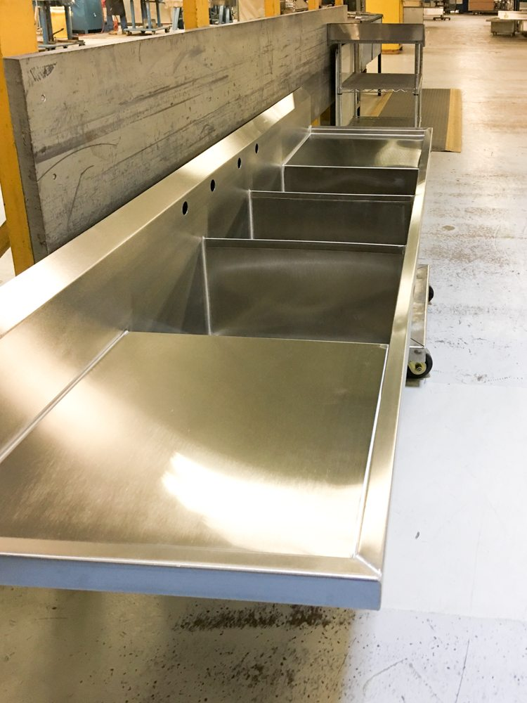 Elkay Really Is Trailblazing The World Of Stainless. Their Crosstown Sink  Line Has Really Sharp Angles (as Opposed To A Traditional Stainless Sink  That Has ...