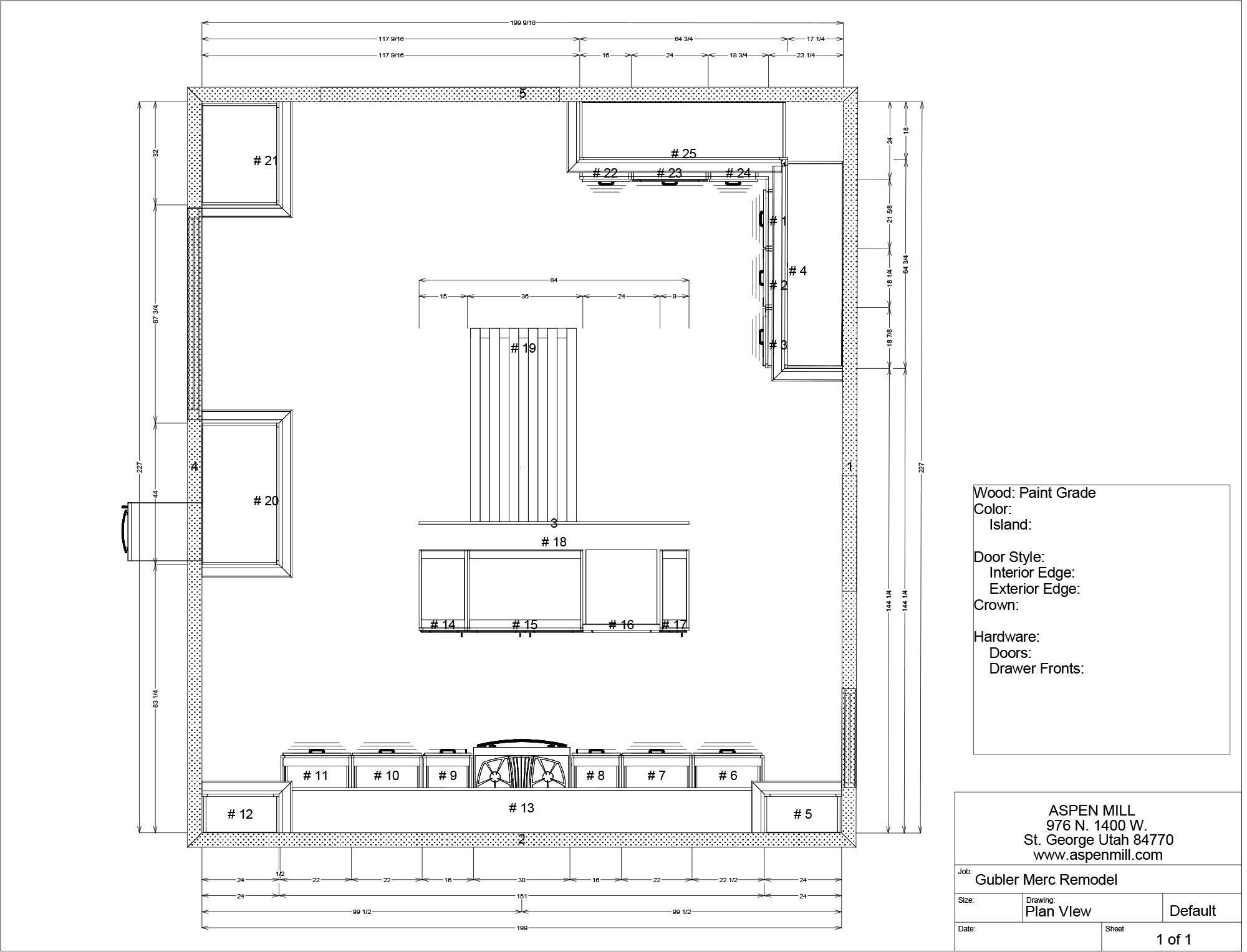 Kitchen Layout + Design At The Merc • Vintage Revivals