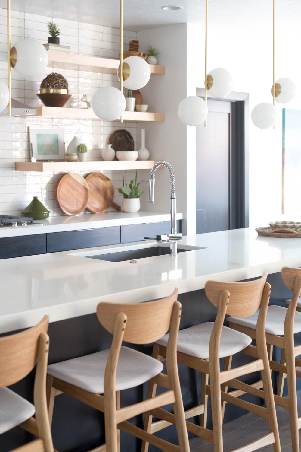 In law 39 s kitchen reveal the unexpected sink that makes - Elkay kitchen cabinets ...