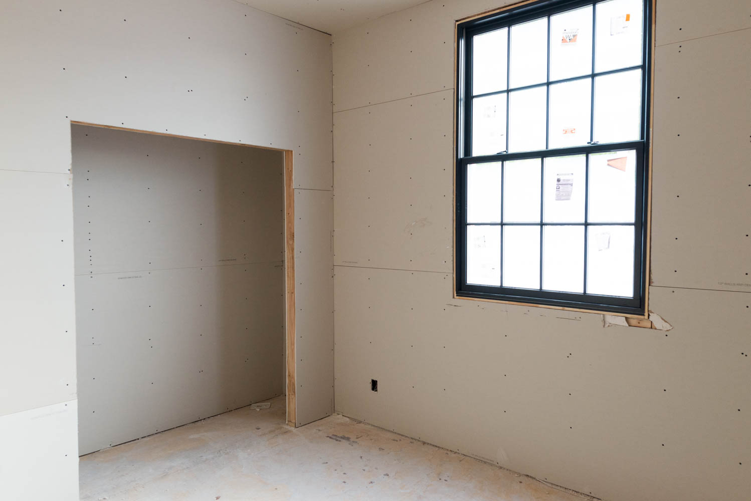 Level 0 | Unfinished: The Drywall Is Hung With No Finish Work At All.