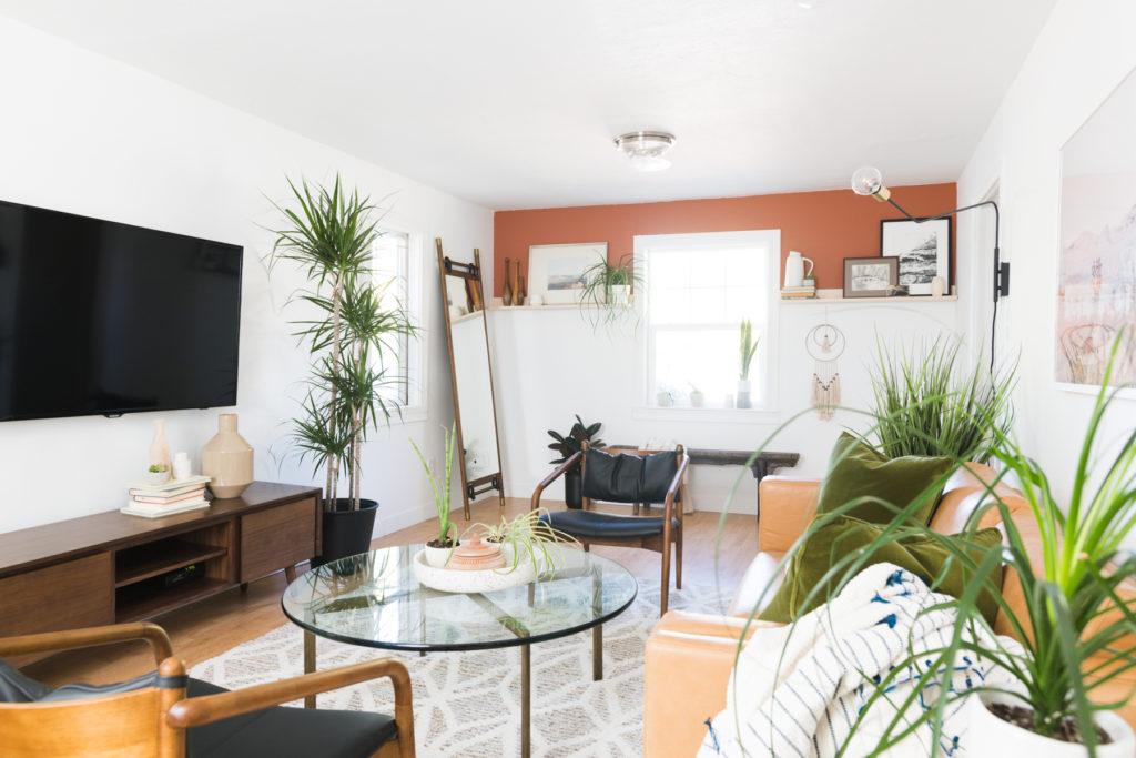 Modern Desert Living Room Reveal Vintage Revivals