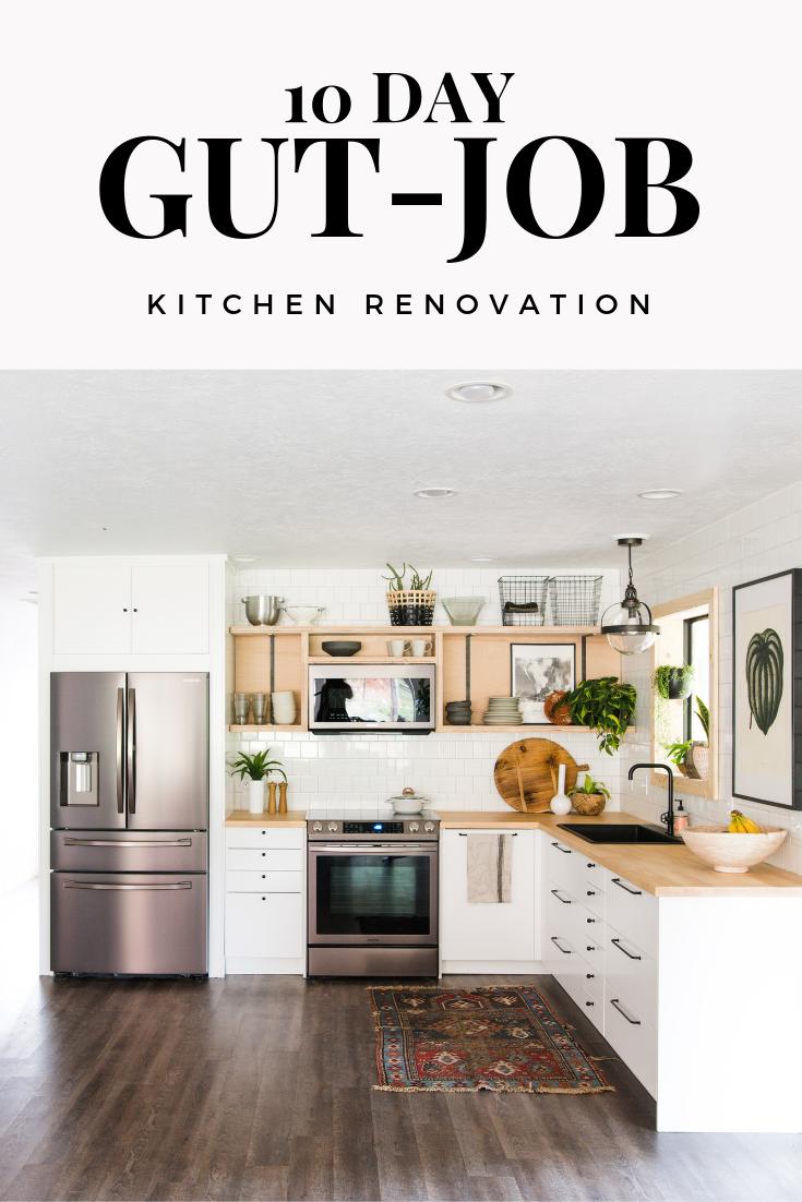 10 Day Kitchen Renovation Reveal Vintage Revivals