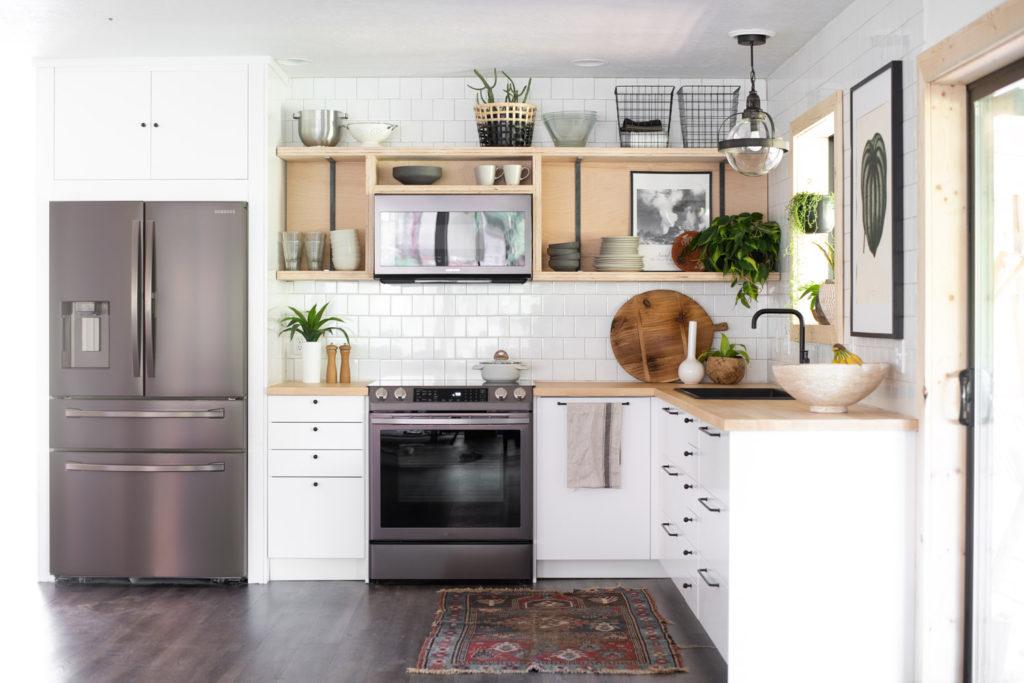 Electrodomésticos metalizados para cocinas modernas