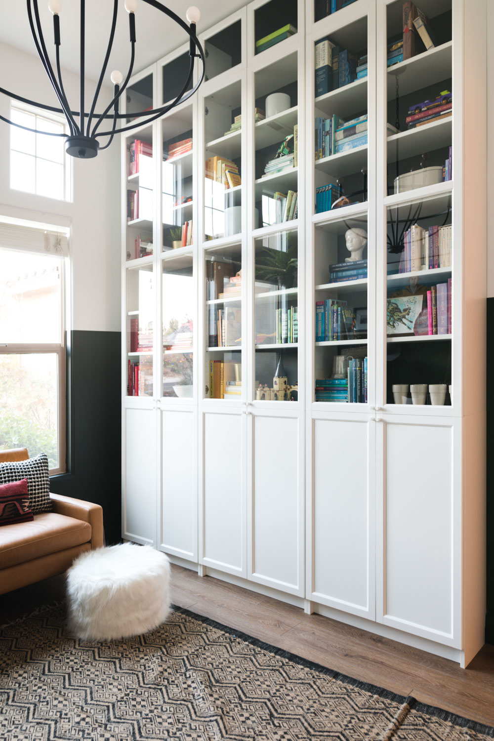 Floor To Ceiling Built In Bookcases The Ultimate Ikea Billy