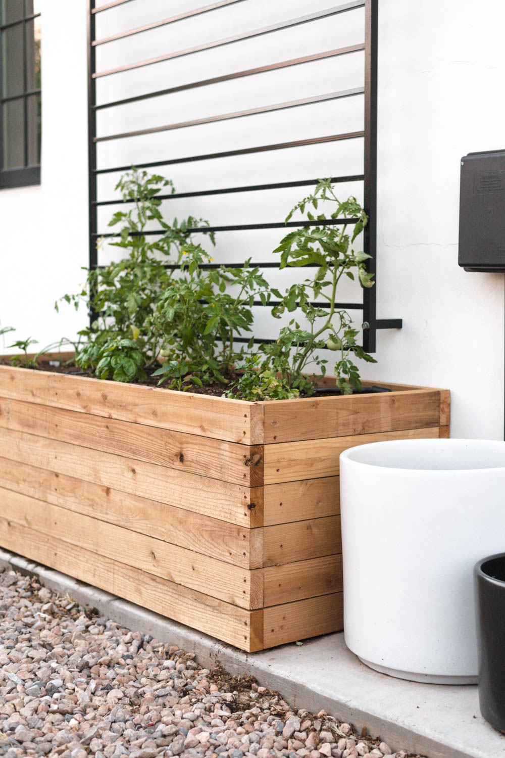 Picture of: Diy Raised Planter Box In Just 3 Steps Vintage Revivals